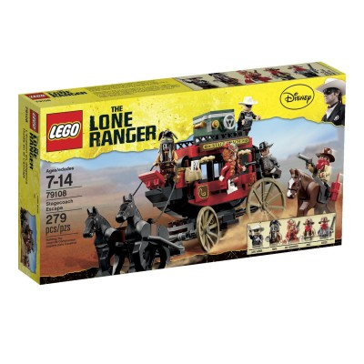LEGO The Lone Ranger Stagecoach Escape $24.69 (SAVE $5.30)