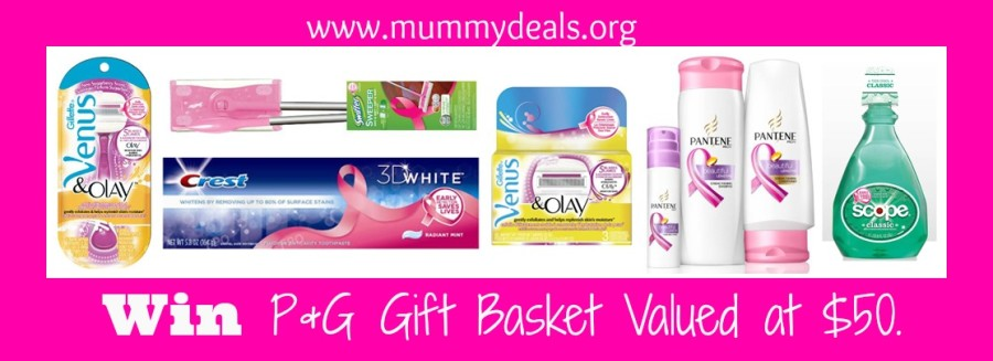 P&G Breast Cancer Awareness HUGE Giveaway