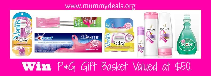 P&G Breast Cancer Awareness HUGE Giveaway