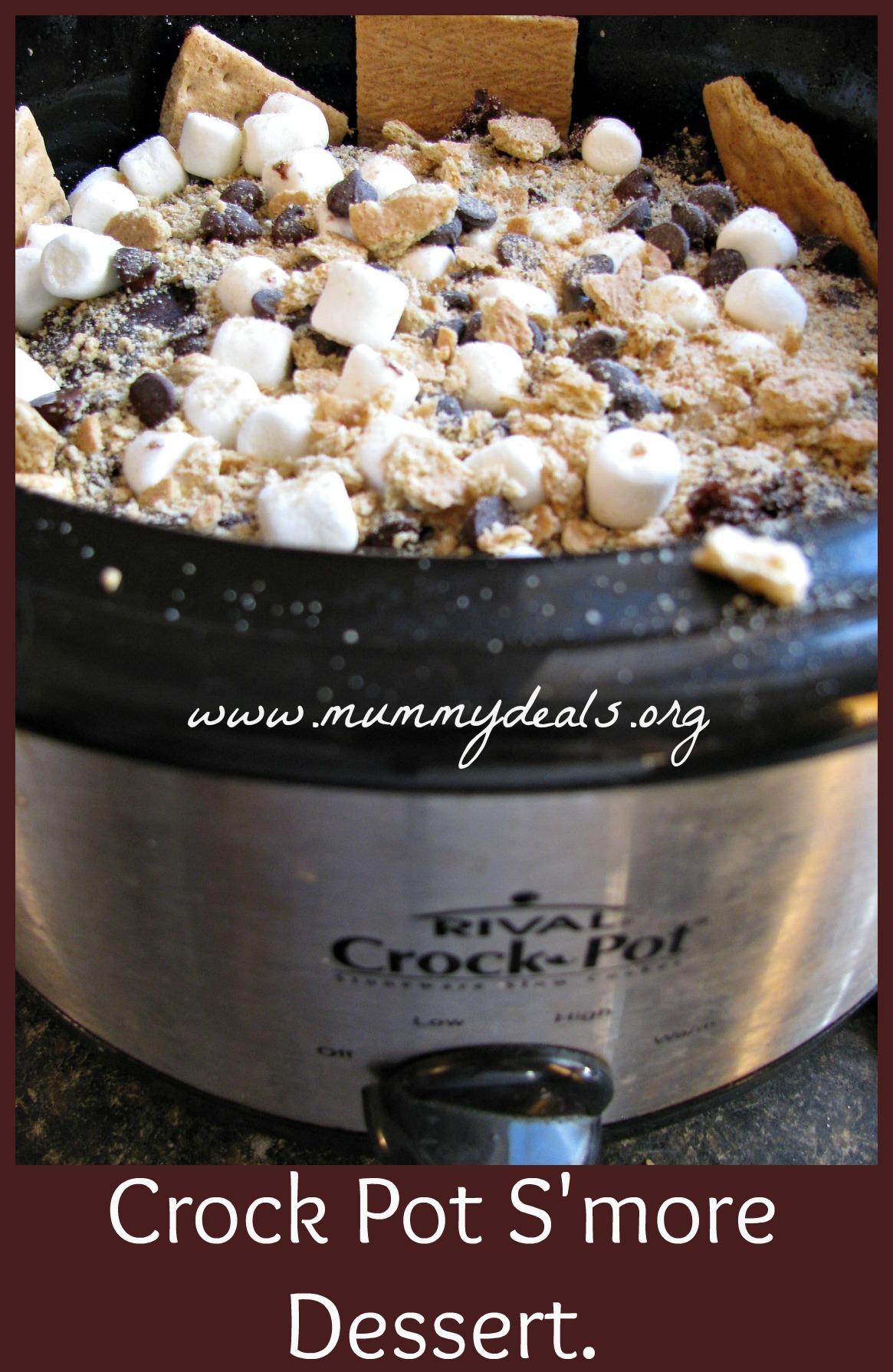 Crock Pot S'more Dessert