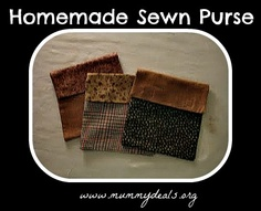 Homemade Sewn Purse
