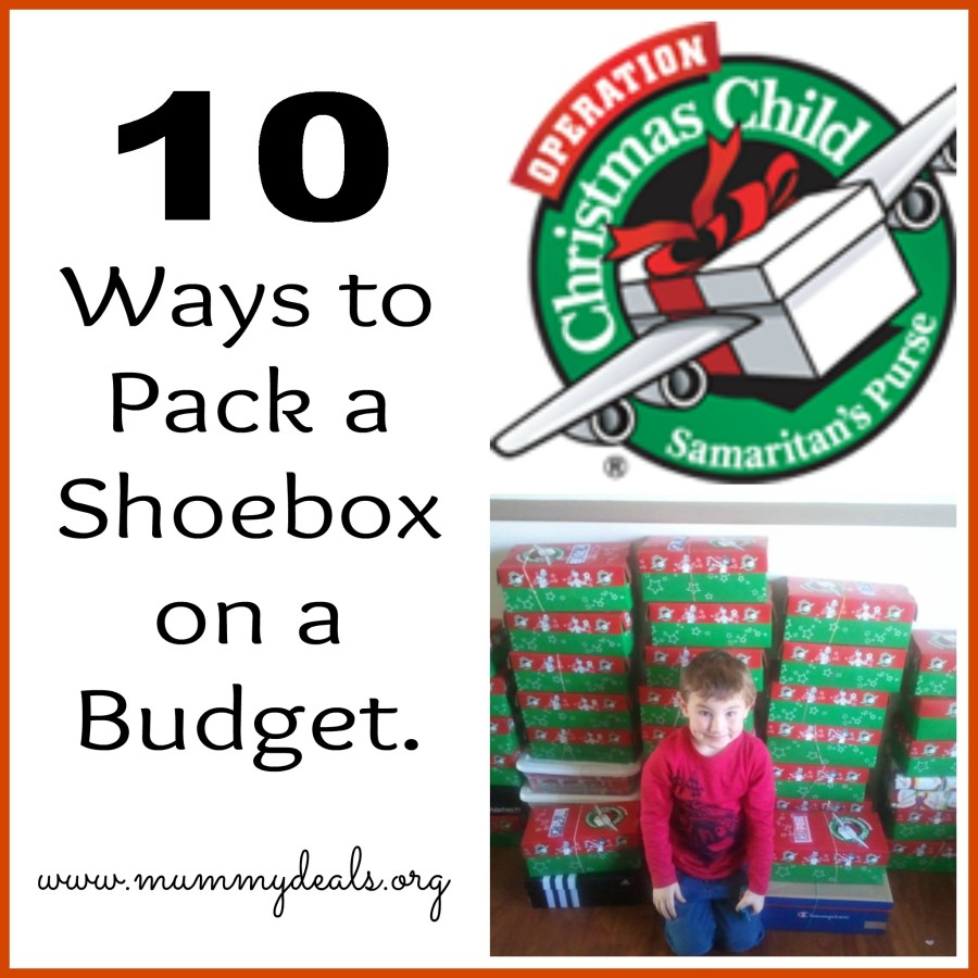 Operation Christmas Child Shoebox Packing Ideas
