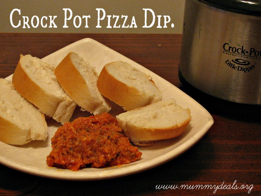 Crock Pot Pizza Dip Recipe