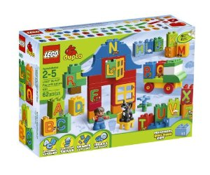 LEGO DUPLO Play with Letters 6051 Deal starts at  3:59 PM PST