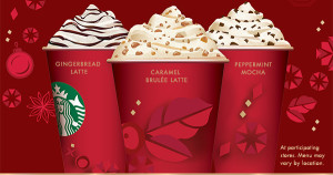 Starbucks Holiday Drinks BOGO