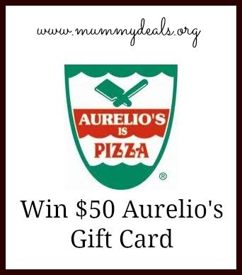 aurelios pizza giveaway