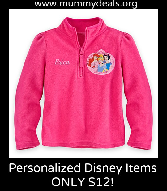 Personalized Disney items