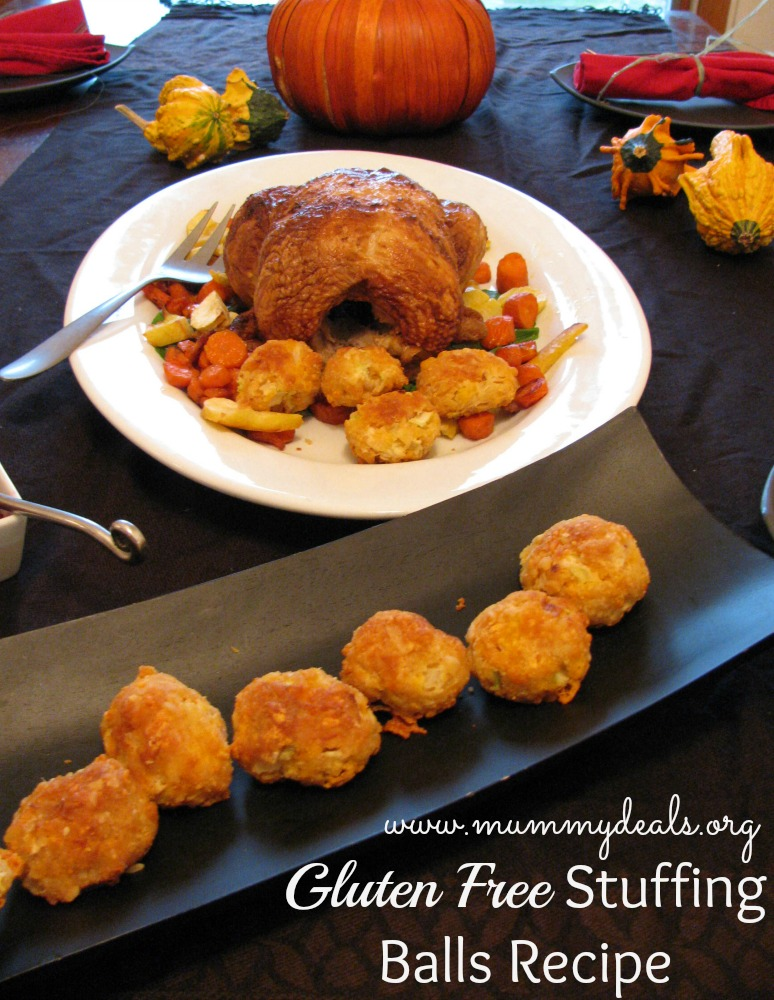 Gluten Free Stuffing Balls Recipe