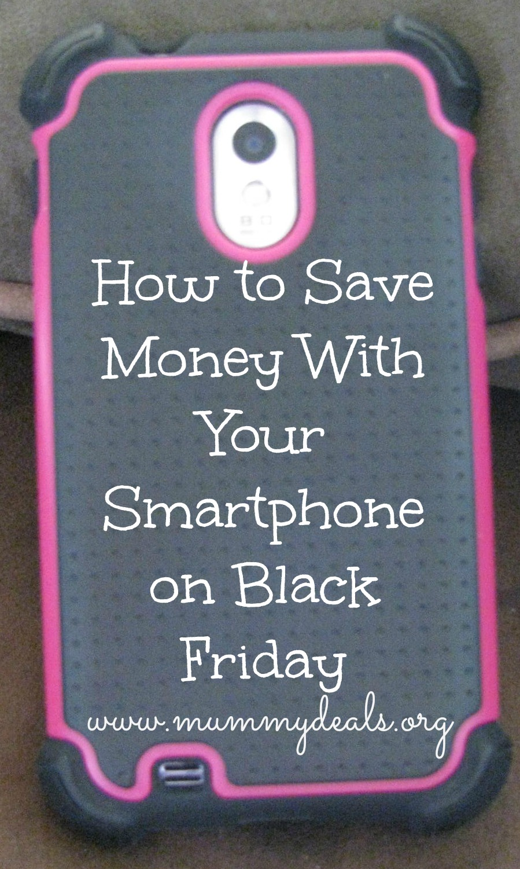 Smartphone on Black Friday