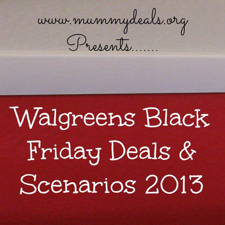 Walgreens Black Friday 2013