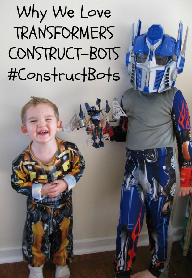Why We Love TRANSFORMERS CONSTRUCT-BOTS