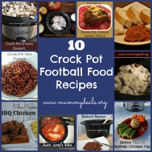 10 Crock Pot Football Food Recipes