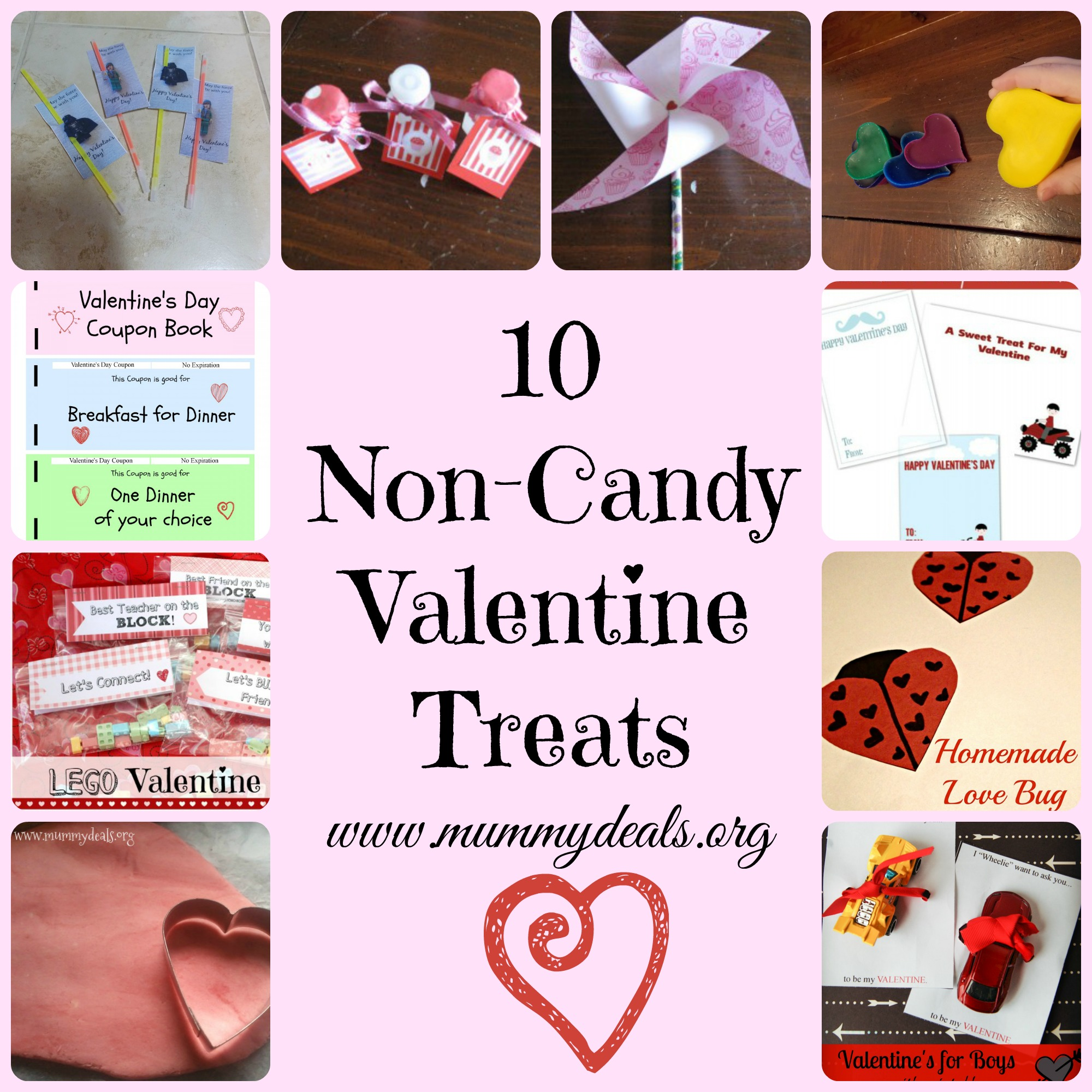 10 Non-Candy Valentine Treats
