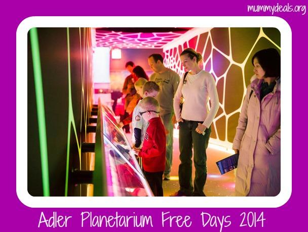 Adler Planetarium Free Days 2014