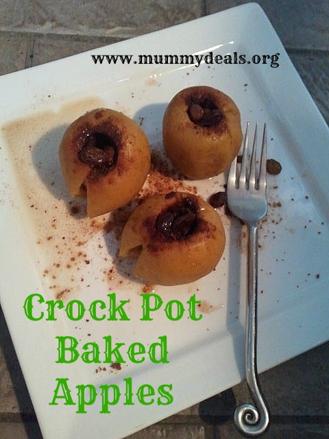 Crock pot Baked Apples