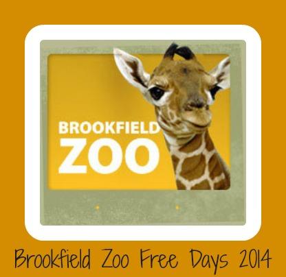 Brookfield Zoo Free Days 2014