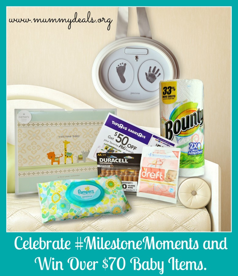 Celebrate #MilestoneMoments and Win Over $70 For Baby