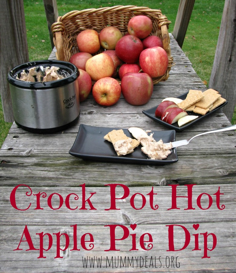 Crock Pot Hot Apple Pie Dip