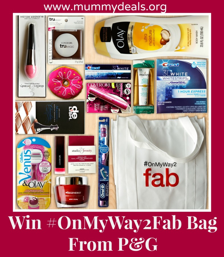 Get Red Carpet Ready With P&G And Win #OnMyWay2Fab Bag