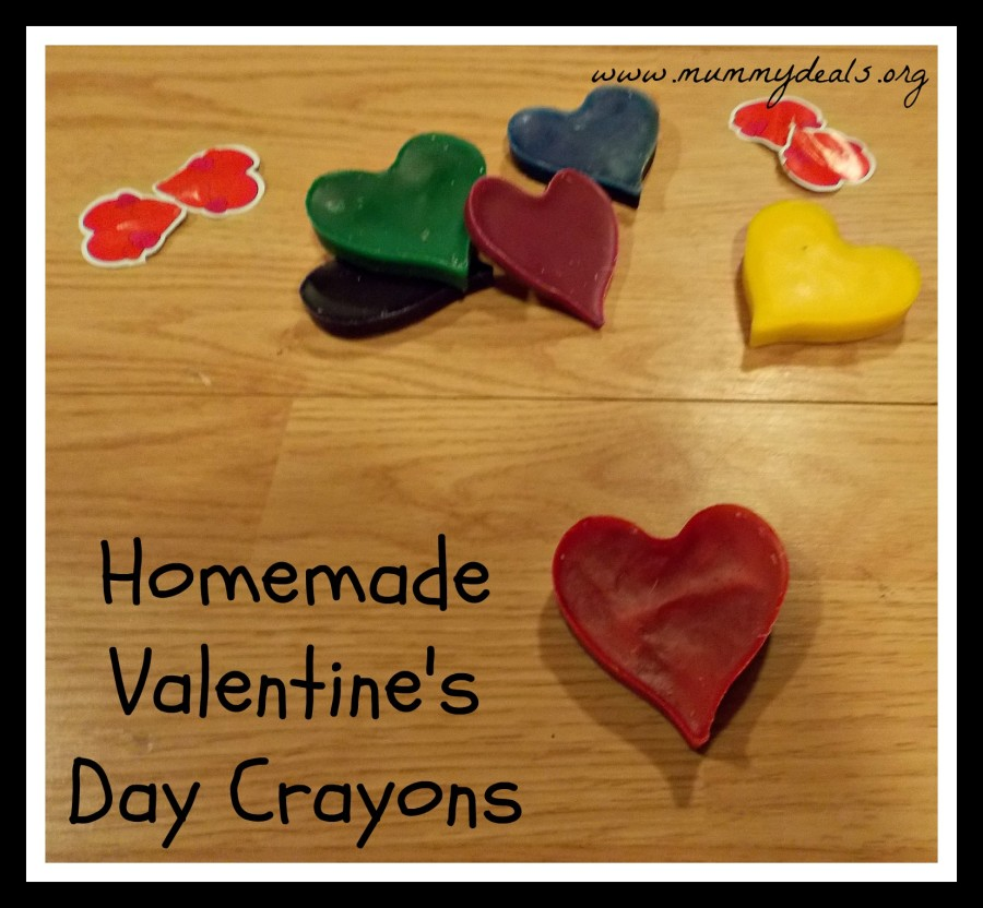 Homemade Valentine's Day Crayons 6