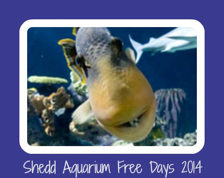 Shedd Aquarium Free Days 2014