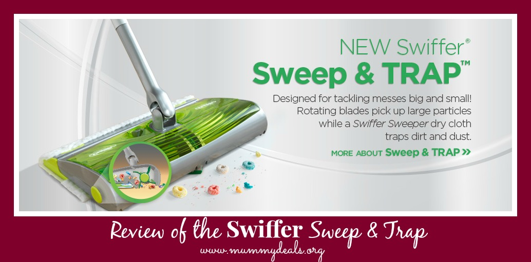 Review of the Swiffer Sweep & Trap