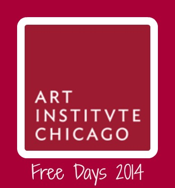 art institute free days 2014