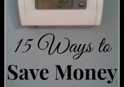 15 Ways to Save Money on Heating