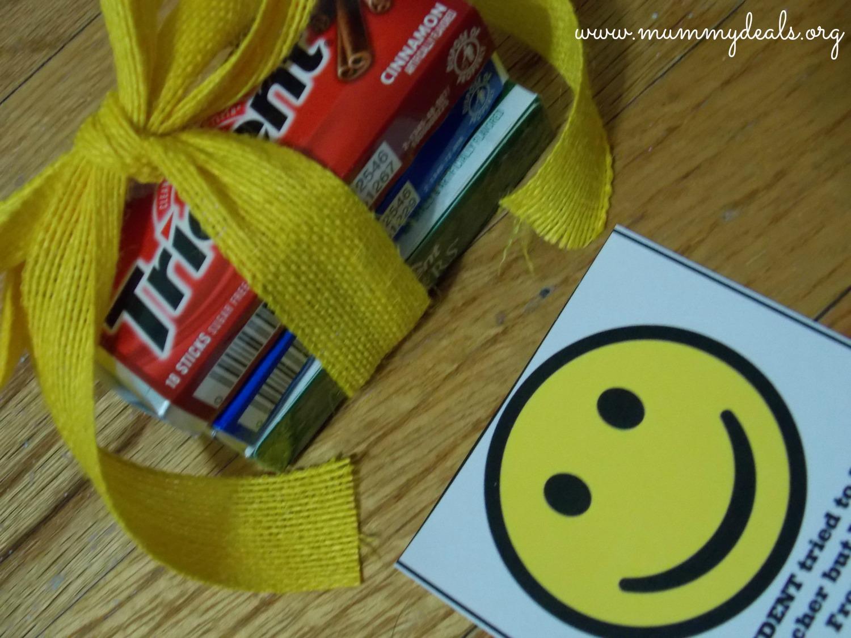 Gym Teacher Appreciation Gift Idea