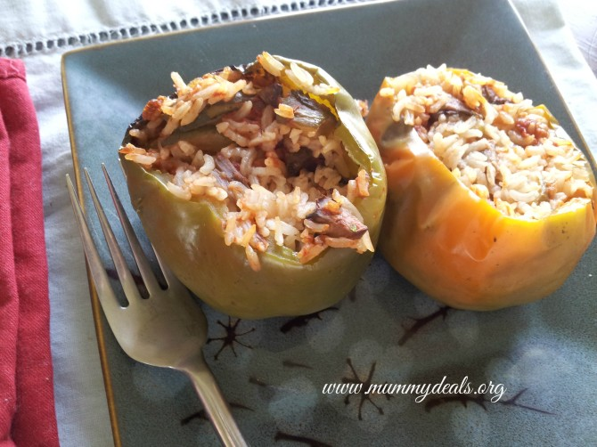 Slow Cooker Stuffed Peppers 3