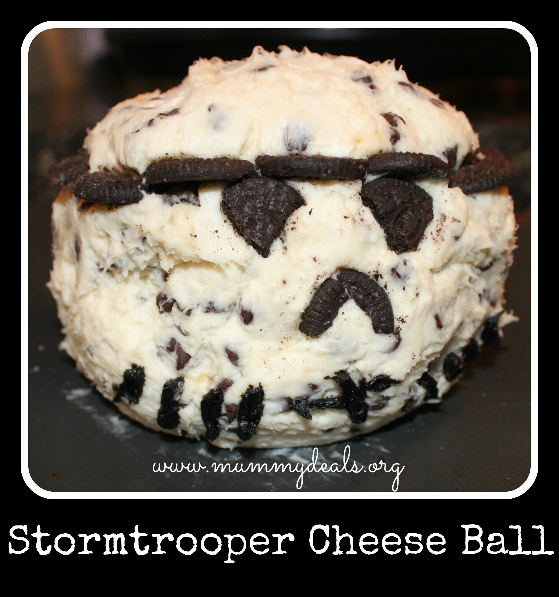 Stormtrooper Cheese Ball