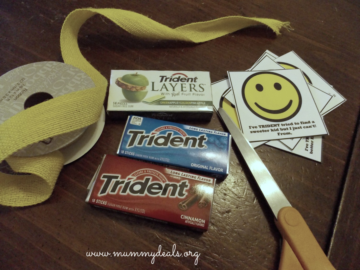 Gum Teacher Appreciation Gift Idea