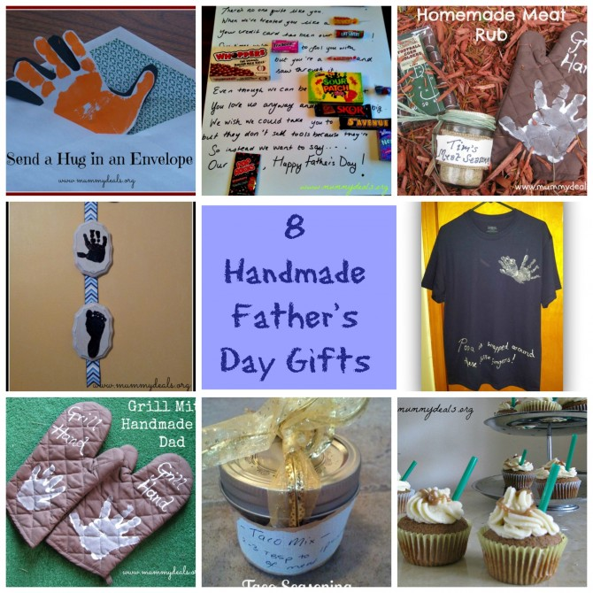 8 Handmade Father's Day Gifts