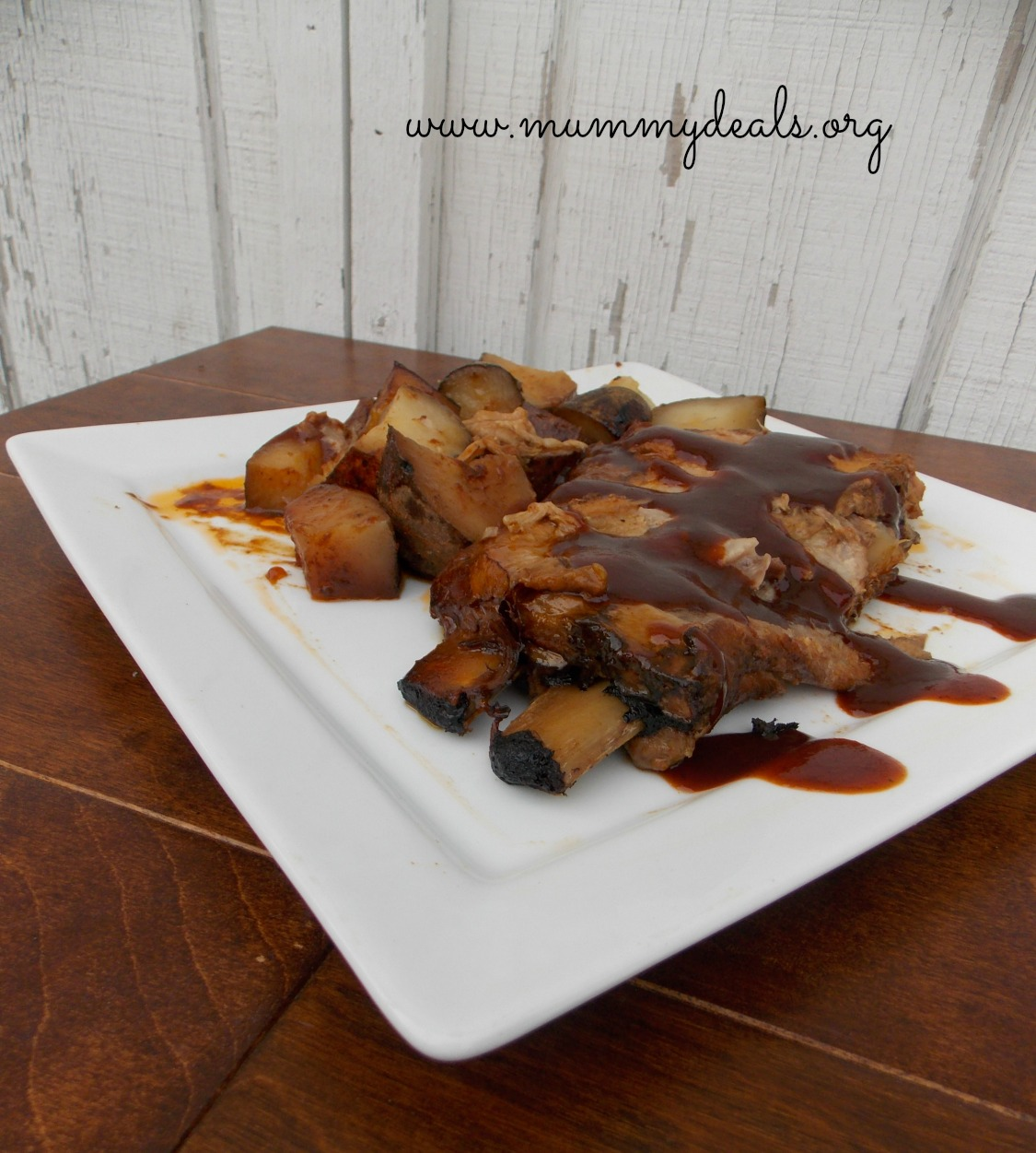 Crock Pot Ribs and Potatoes 2