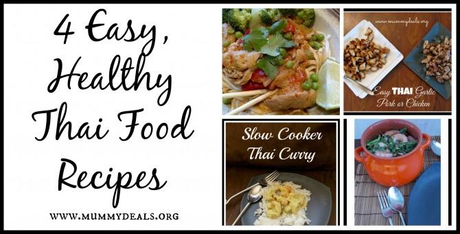 Easy healthy thai food recipes mummy deals 4 easy healthy thai food recipes forumfinder Images