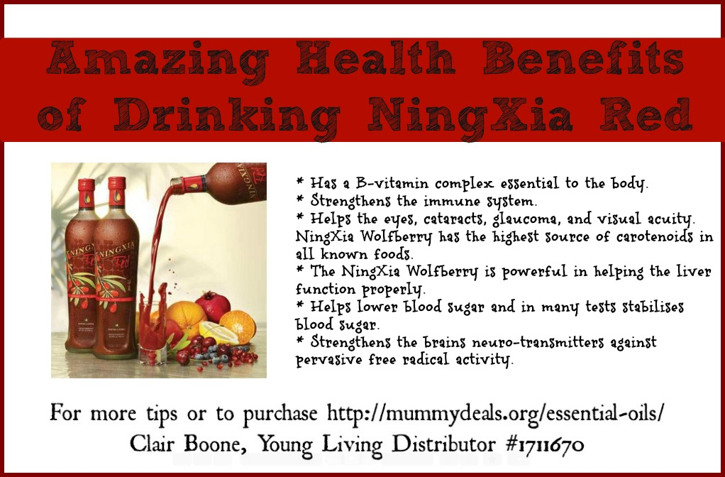 Amazing Health Benefits of Drinking NingXia Red