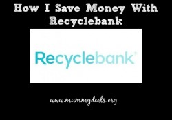 How I save Money With Recyclebank