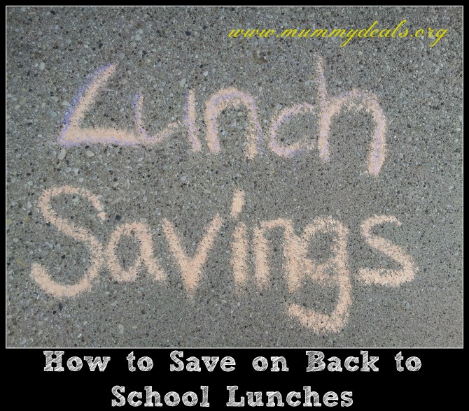 How to Save on Back to School Lunches