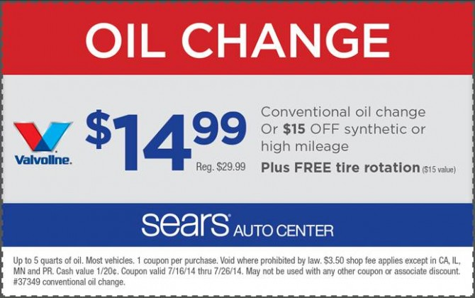 Kia oil change coupons 2019