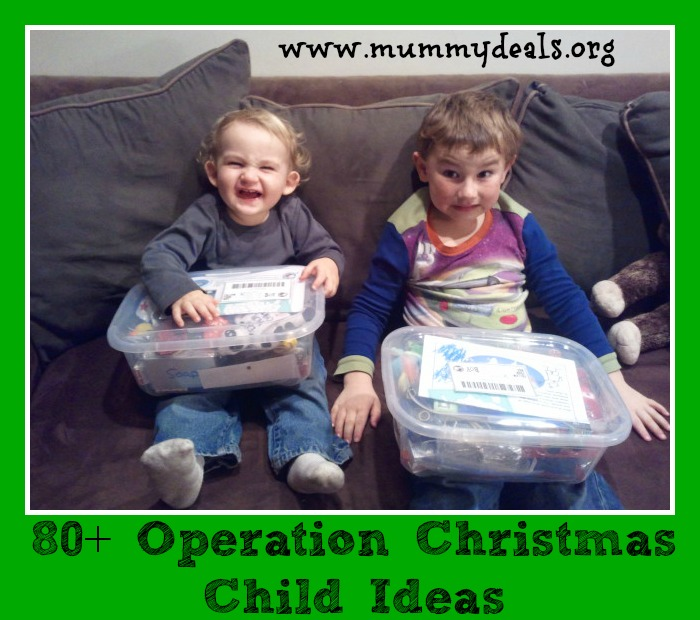 80+ Operation Christmas Child Ideas