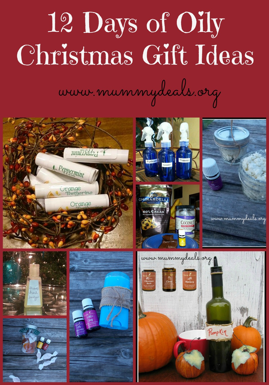 12 Days of Oily Christmas Gift Ideas