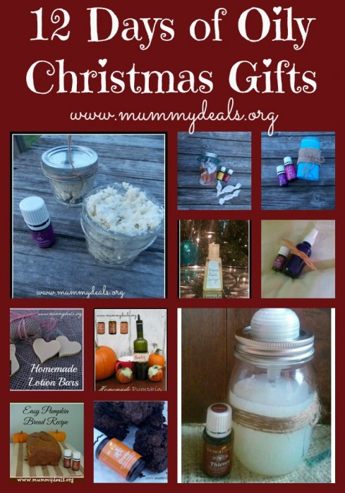 12 Days of Oily Christmas Gifts