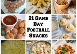 21 Game Day Football Snacks