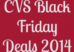CVS Black Friday 2014