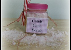 Candy Cane Sugar Scrub