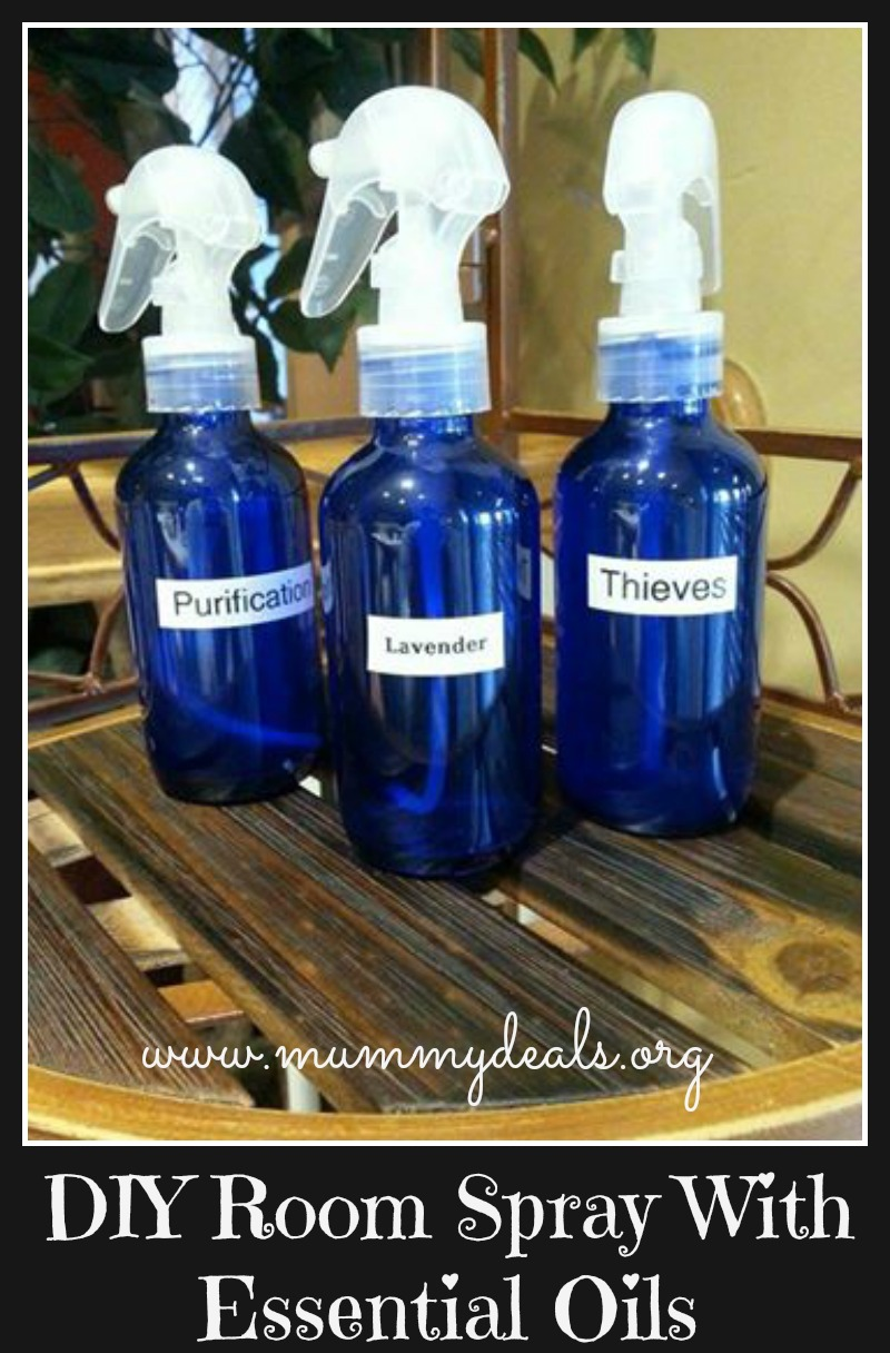 DIY Room Spray With Essential Oils