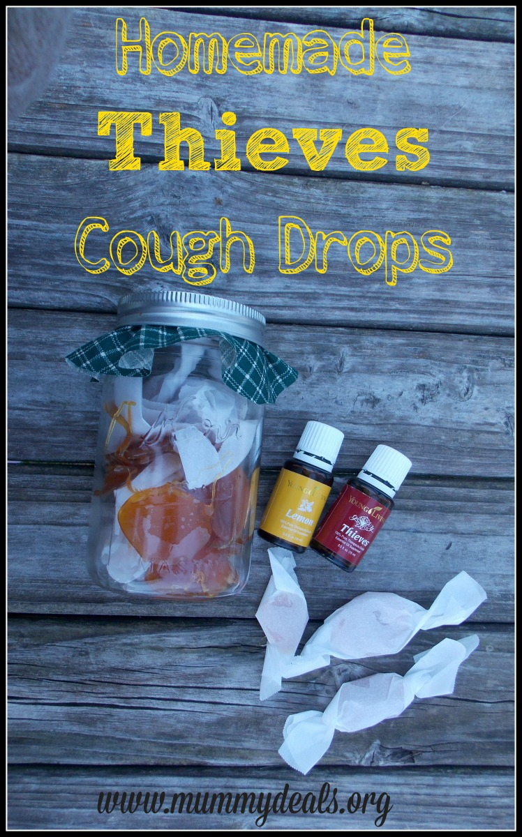 Homemade Thieves Cough Drops