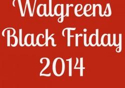Walgreens Black Friday 2014