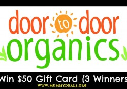 Win $50 to Door to Door Organics