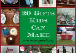 20 Gifts Kids can make
